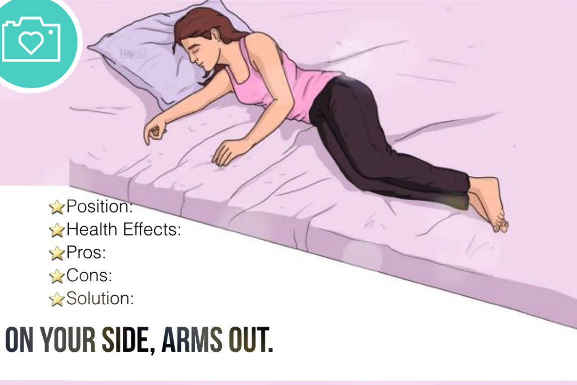 4.On Your Side, Arms Out