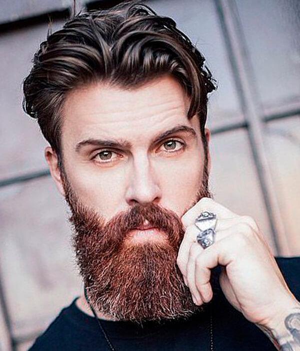 Long Bandholz Beard