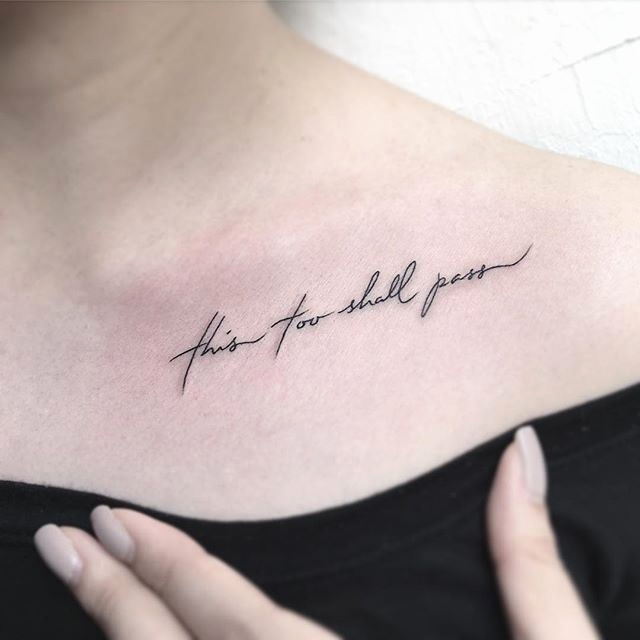 35 Unique Meaningful Tattoo Quotes For Your Inspiration