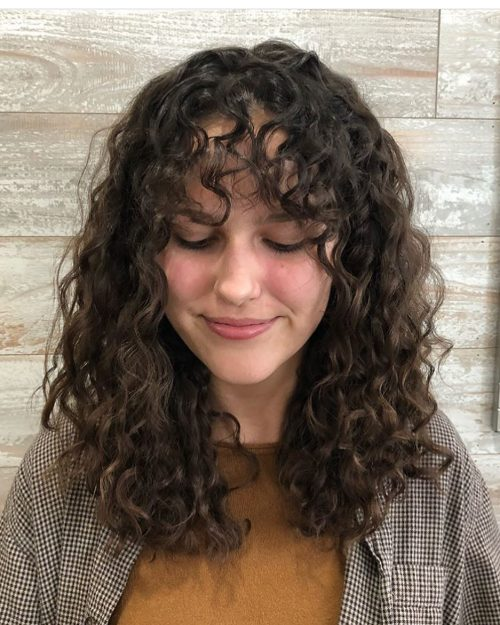 Medium Length Curls