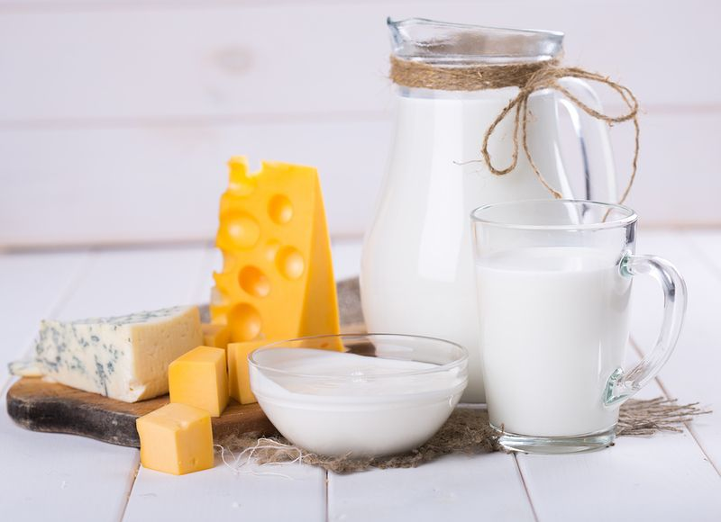 Whole Fat Dairy Products