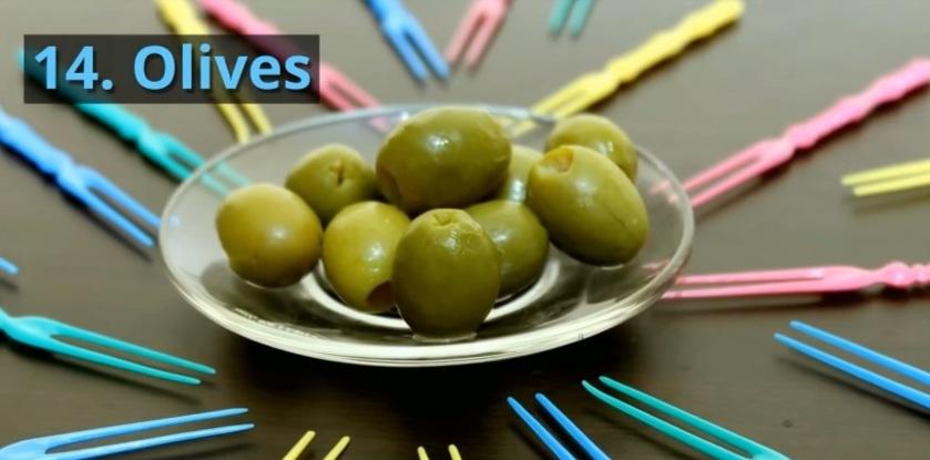 14. Olives