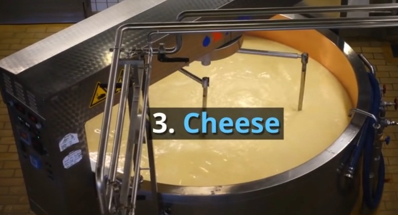 3. Cheese