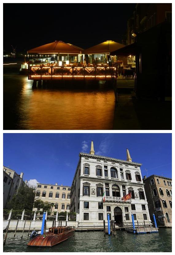 Algiubagio Restaurant & Aman Canal Grande Hotel in Venice