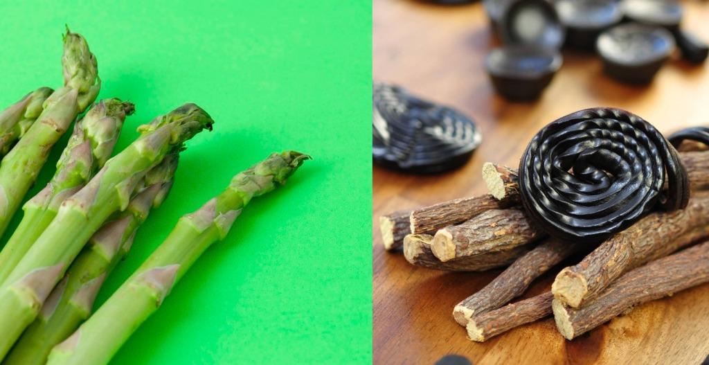 Asparagus racemosus & liquorice