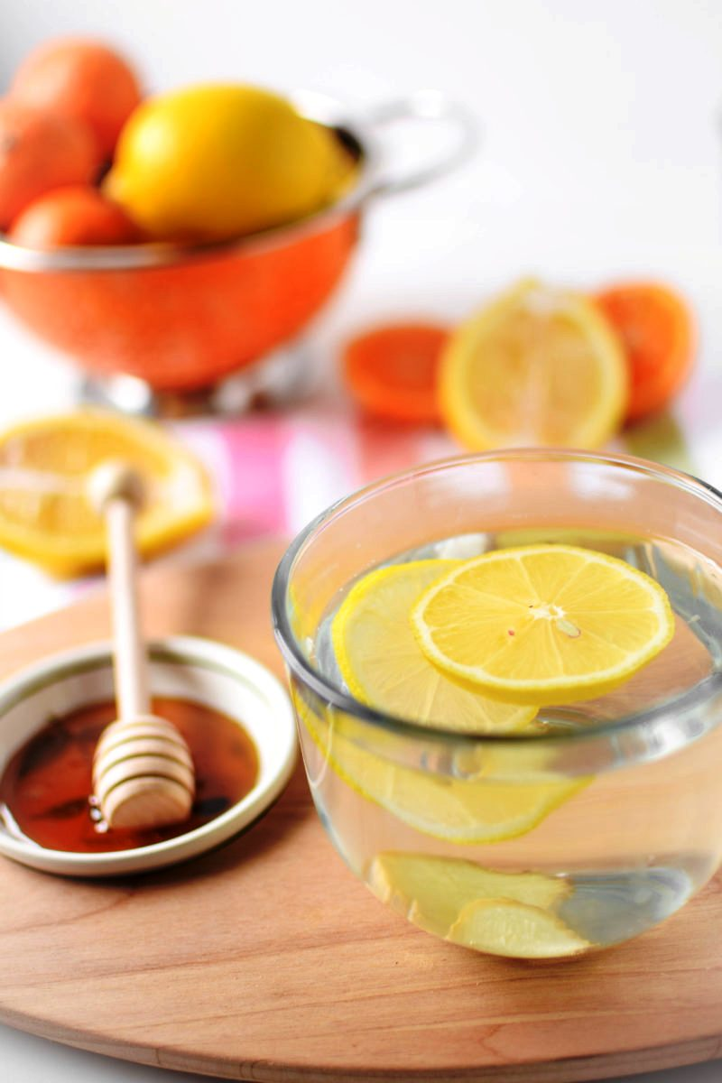 Honey And Lemon Water
