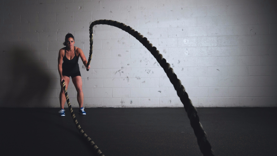 Add different intensities to your exercises.
