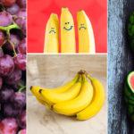 Health Benefits of Common Fruits: Banana, Grapes, and Watermelon