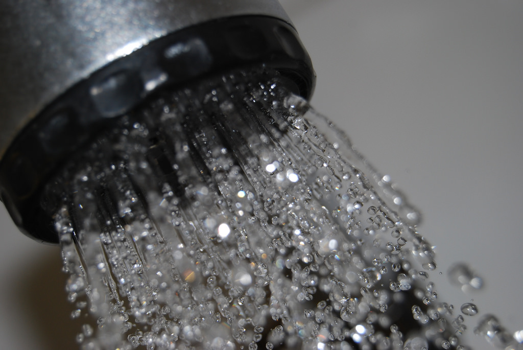 Take a shower or bath