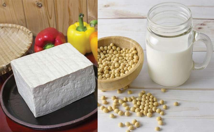 Tofu and milk